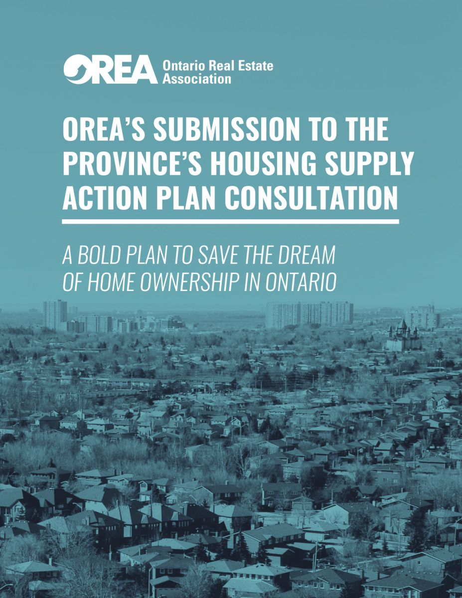 OREA's Housing Supply Action Plan | Nadia Childs, RE/MAX